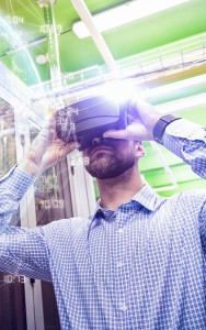 Virtual reality headset for the industry
