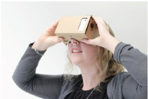 casque immersif google cardboard