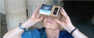 visite immersive google cardboard