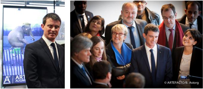 visite 1er ministre Valls