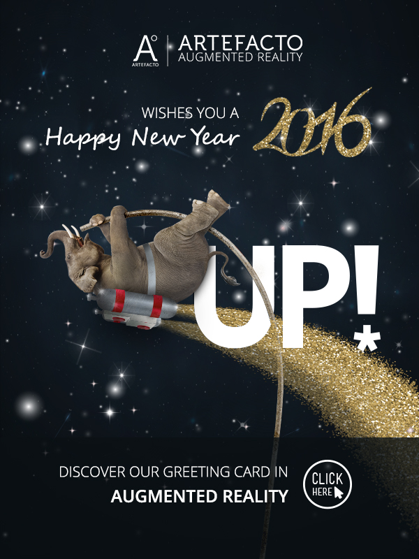 Discover our Augmented Reality Greeting Card