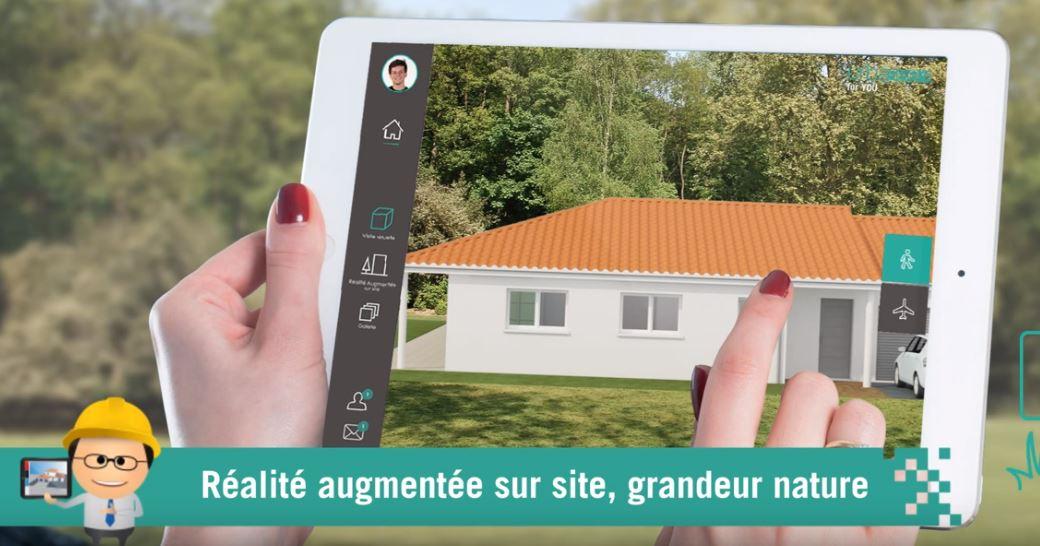 Application de réalité augmentée Urbasee pour l'article de MEITO