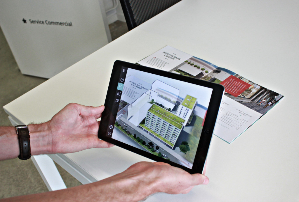 marker-based-augmented-reality-application