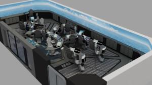 Application 3D pour l'industrie militaire