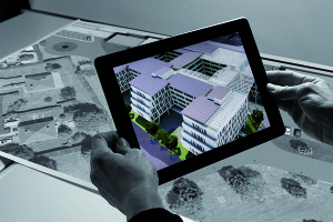 réalité augmentée sur marqueur dans une application