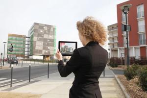 Réalité augmentée programme immobilier