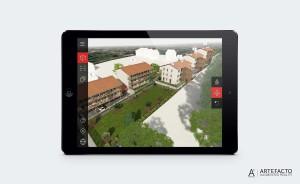 application modèle 3D