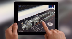 Modélisation du process industriel SPIE en réalité augmentée sur marqueur