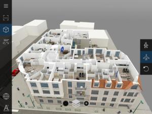visite virtuelle immobilier ecorche etages