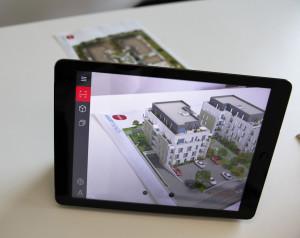Plan 2D réalité augmentée application