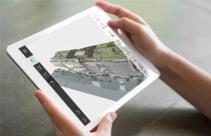 application shift sur tablette