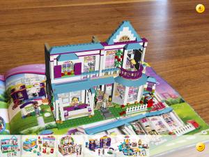 catalogue produit en réalité augmentée pour les LEGOS