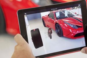 Application de réalité augmentée pour l'automobile