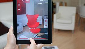 application catalogue réalité augmentée produits