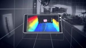 Scan de l'espace par la technologie TANGO