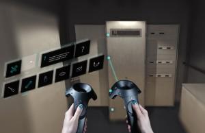 Outil de formation industrielle déployé sur le HTC Vive