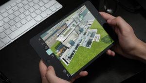 Maquette 3D pour visiter virtuellement une usine