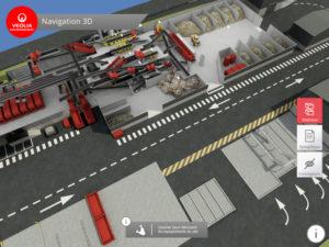 maquette 3D Véolia industrie