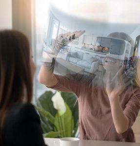 visite virtuelle immo casque VR