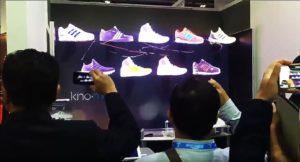 hologramme pour adidas