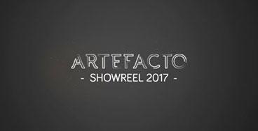 visuel showreel 2017 Artefacto