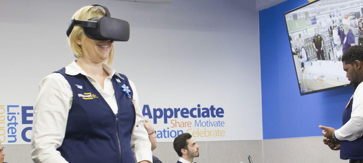 Formation en VR pour Walmart