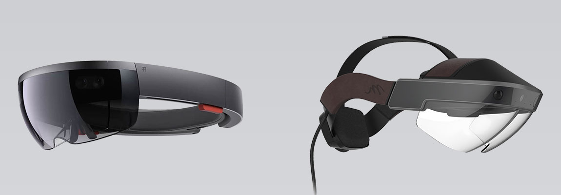casque de réalité mixte hololens vs meta