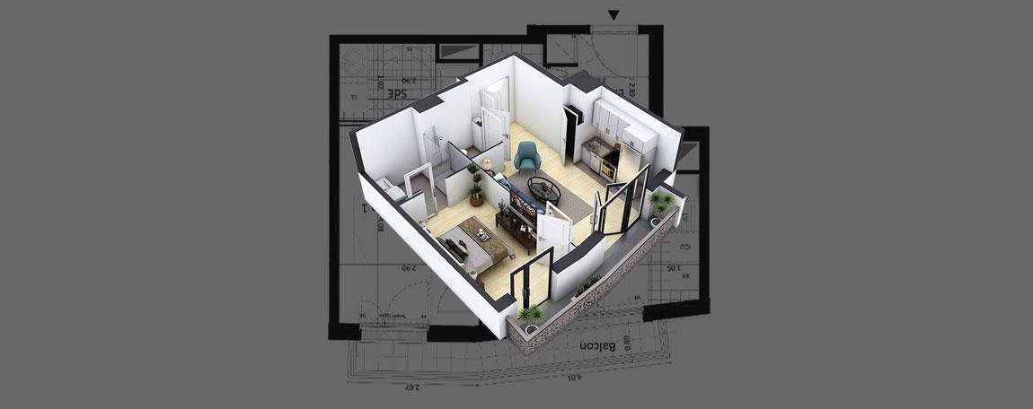 modèle 3D infographiste