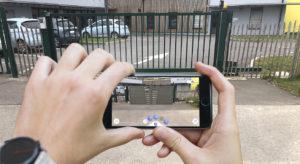 application de portail en réalité augmentée