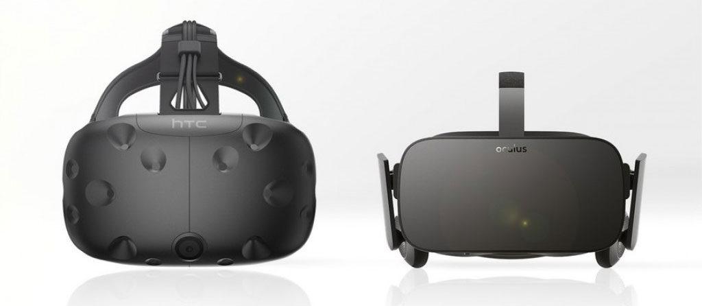casques VR Oculus Rift et htc vive