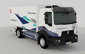 camion électrique Delanchy
