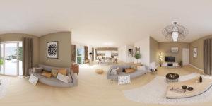 visite virtuelle d'appartement pour Giboire Octroi