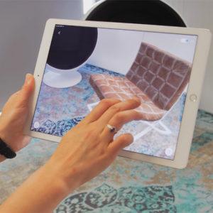 Application de réalité augmentée Urbasee