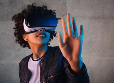 casque VR pour les visites virtuelles immobilières