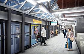 référence métro ligne B à Rennes