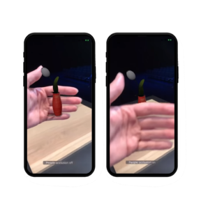 occlusion arkit 3 Apple