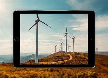 éoliennes en réalité augmentée
